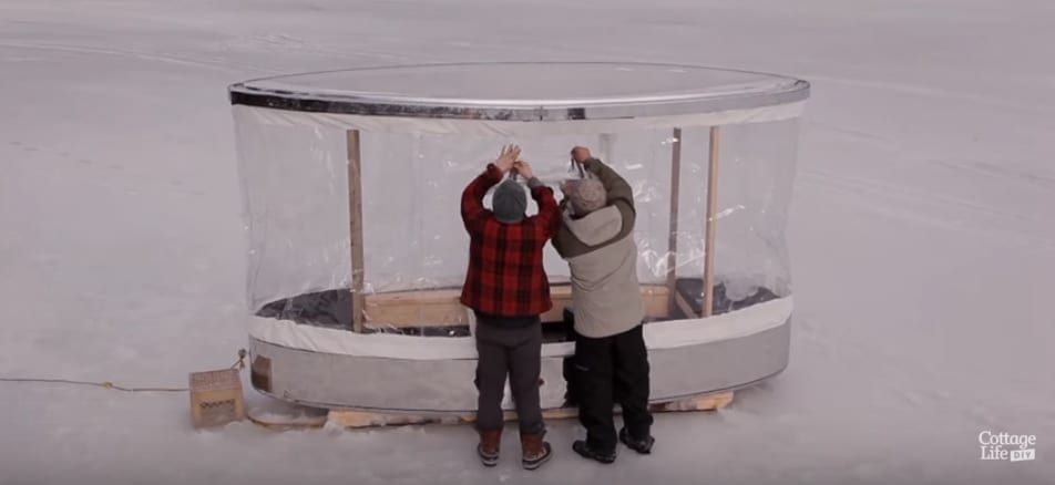 Build your own Ice Shanty