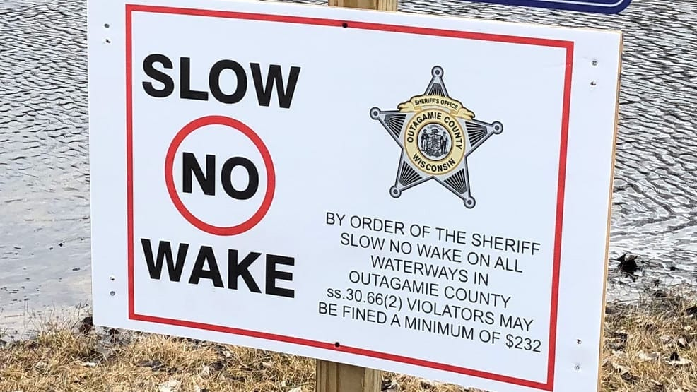 Slow-no-wake order issued for Wolf River in Outagamie Co.